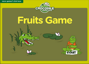 Fruits Vocabulary ESL Vocabulary Crocodile Board Game