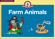Farm Animals Interactive ESL Board Game