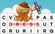 Clothes Interactive Word Find