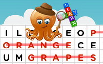 Fruits Interactive Word Find