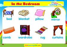 Bedroom vocabulary video