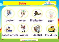 Jobs vocabulary video