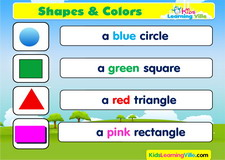 Shapes vocabulary video