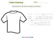 T-shirt coloring
