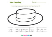Hat coloring