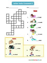 Actions crossword 2