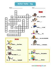 Actions crossword 3