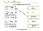 Farm animals match
