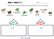 Insects can cant fly