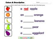 Colors description