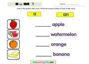 Fruits a an 1