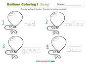 Coloring tracing 1