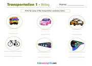 Transportation 1 writing