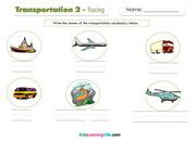 Transportation 2 writing