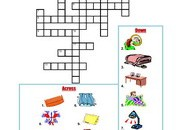 Bedroom-Crossword