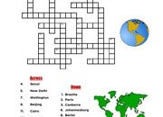 Countries-Capitals-Crossword