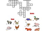 Farm-Animals-Crossword