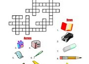 School-Supplies-Crossword