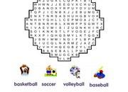 Sport-Wordsearch