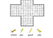 Stationery-Wordsearch