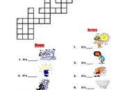 Weather-Crossword
