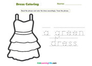 dress-coloring
