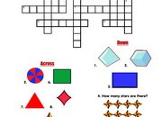 shapes-Crossword