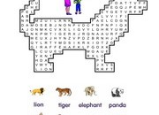 zoo-animals-Wordsearch