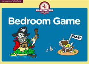 Bedroom Vocabulary Interactive ESL Board Game