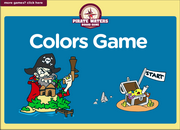 Colors Vocabulary ESL Interactive Board Game