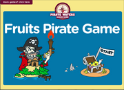 Fruits Vocabulary ESL Interactive Board Game