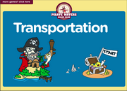 Transportation Vocabulary ESL Interactive Board Game