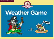 Weather Vocabulary ESL Interactive Board Game