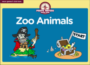 Zoo Animals Vocabulary, Grammar ESL Interactive Board Game, Comparatives and Superlatives