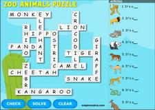 Wild Animals Zoo Animals