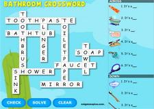 Bathroom Interactive Crossword
