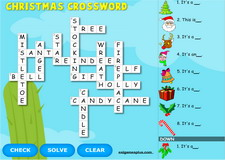 Christmas Interactive Crossword