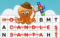 Christmas Interactive Word Find