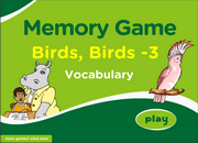 Memory Game on Bird Vocabulary for ESL