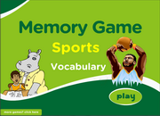 Sports Vocabulary ESL Memory Game