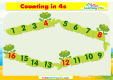 Counting 4s