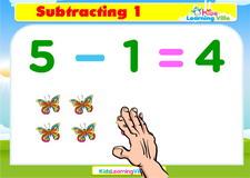 Subtract 1