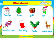Christmas vocabulary video