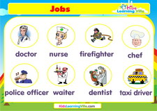 Jobs vocabulary video