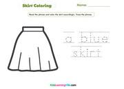 Skirt coloring