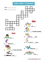 Actions crossword 1