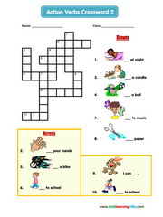 Actions crossword 2