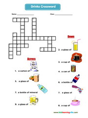 Drinks crossword