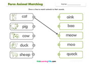 Farm animals match