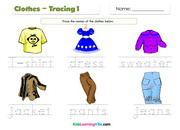 Clothes tracing 1